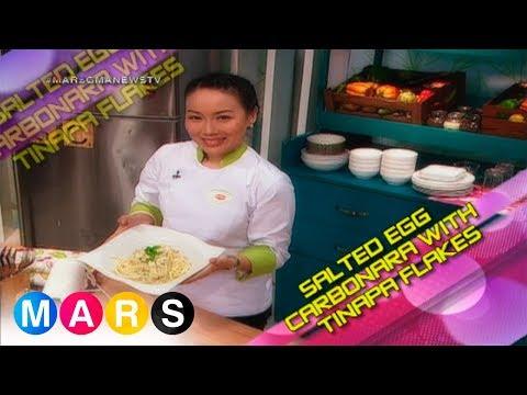Mars Masarap: Salted egg carbonara with tinapa flakes by Chef Jackie Ang-Po