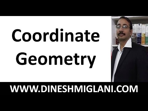 Coordinate Geometry Tricks and Formulaes for CAT, SSC by Dinesh Miglani