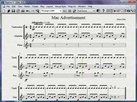 Mac Ads Sheet Music