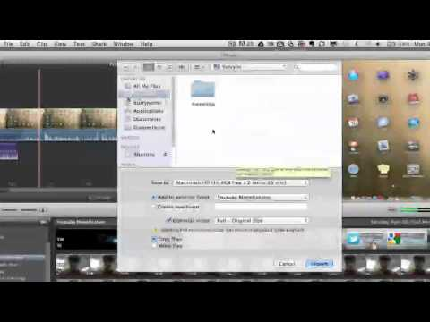 iMovie Tutorial - How To Import Video Into iMovie