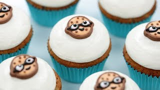 CHOCOLATE CHIP COOKIE CUPCAKES - NERDY NUMMIES