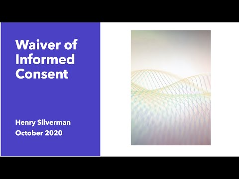 Waiver Consent  CME Dec 2015 Research Ethics