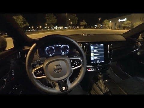 2018 Volvo V90 T6 AWD R-Design - POV Test Drive (Binaural Audio)