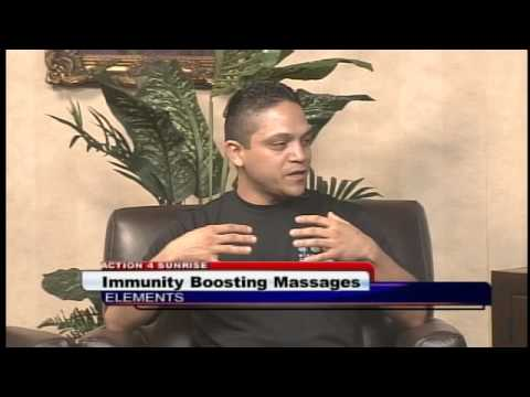 Massage Therapy Could Boost Immunity