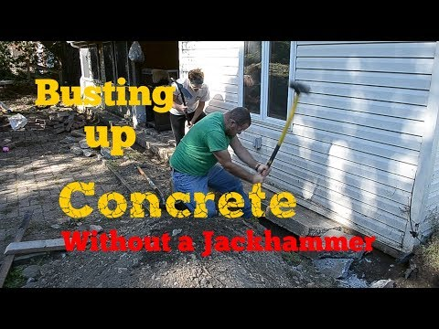 Busting up Concrete Without a Jackhammer