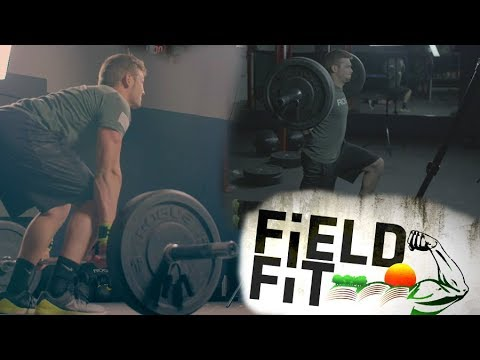 Field Fit - Building a Foundation Pt. 2 Deadlifts and Lunges