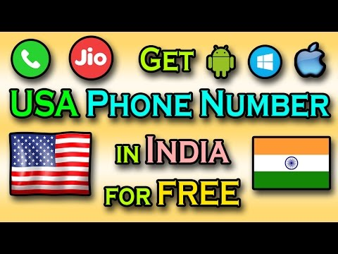 How to get USA Phone Number in India for free without buying any Sim