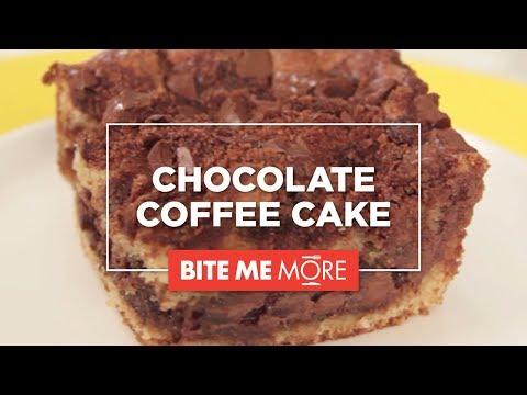 EASY DESSERT RECIPE - Chocolate Coffee Cake