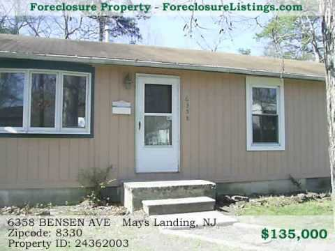 New Jersey Foreclosures for Sale