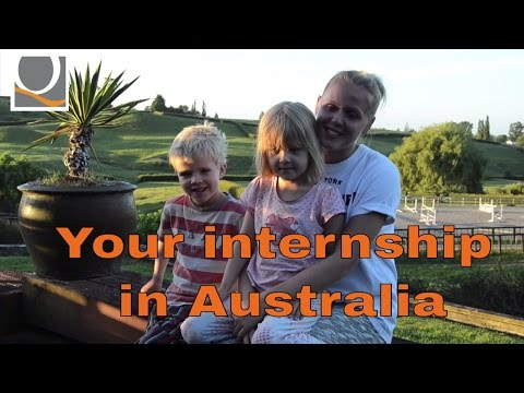 Your internship in Australia