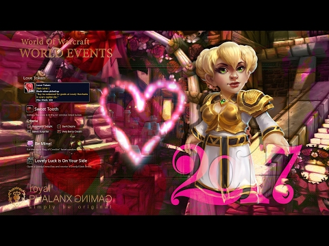 World Events-2017 Love is in the Air-Achievement Sweet Tooth, Be Mine! & Lovely Luck Is On Your Side
