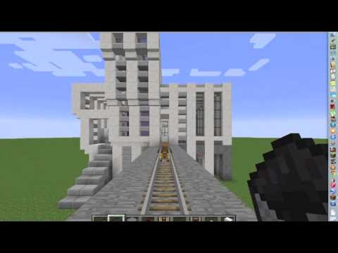 Minecraft 1.7 Automatic Stop and Go Minecarts