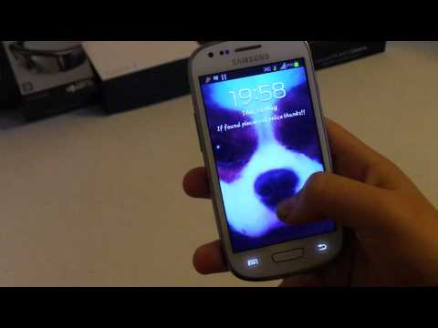 Customize Lock Screen On Samsung Galaxy S3 Mini