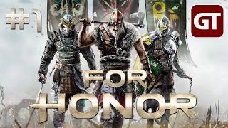 For Honor Gameplay German #1 - Let's Play For Honor Deutsch Kampagne / Singleplayer