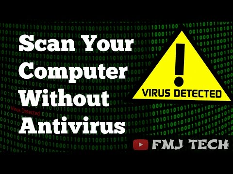 Scan Computer Without Using Any Antivirus - CMD METHOD