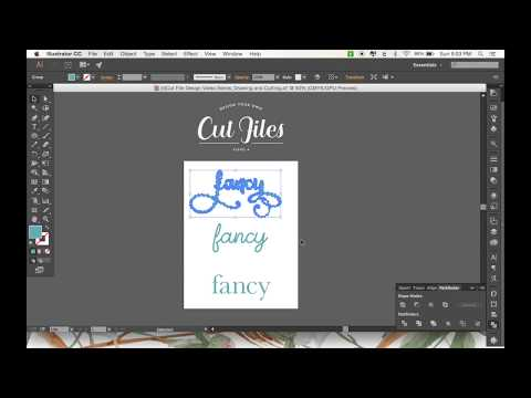 "Designing Your Own Cut Files: Part 4 - Using the ""Write"" Feature in Custom SVG File Designs"