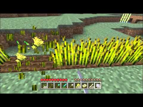 Minecraft Xbox 360 1.0.1 #51 - Wheat Farming The EASY way (Lazy Way)