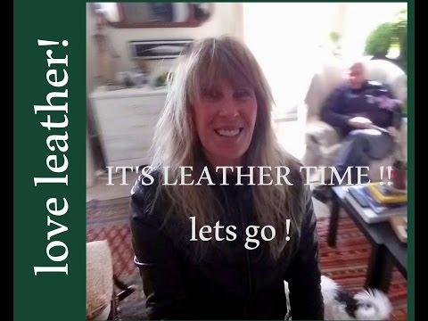 LEATHER JACKETS // how i stretch & shrink & wash them