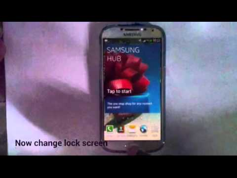 How to Change Wallpaper (Home Screen and Lock Screen) on Samsung Galaxy s4