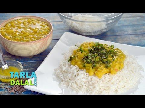 वरन भात (Varan Bhaat, Maharashtrian Varan Bhaat) by Tarla Dalal