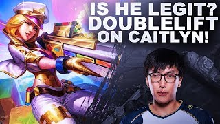 Download IS DOUBLELIFT ACTUALLY LEGIT? HE'S ON EUW WITH CAITLYN! | League of Legends Video
