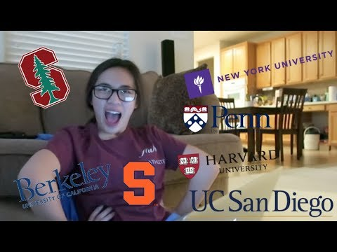 College Decision Reaction 2018// GETTING REJECTED FROM ALMOST EVERY SCHOOL?!?!