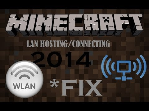 *NEW* How to Fix Minecraft LAN Not Working - 1.12 / 2017 Edition