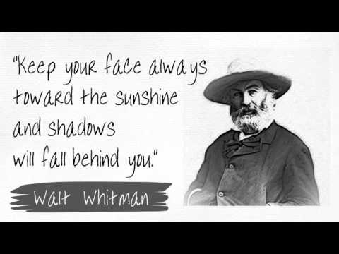 Motivational Quotes about Moving Forward in Life (Walt Whitman)