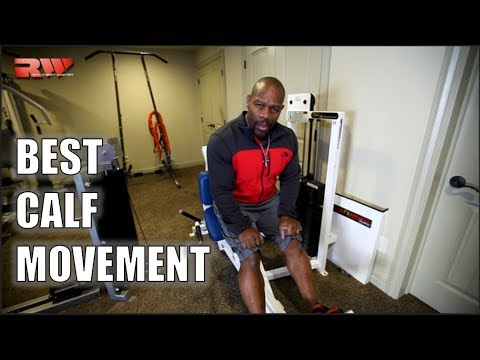 What is the BEST CALF MOVEMENT for BIGGER CALVES?