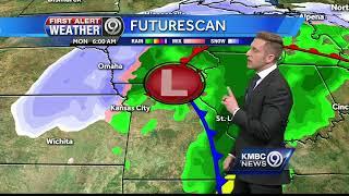 First Alert: Thursday temps will near 40 degrees