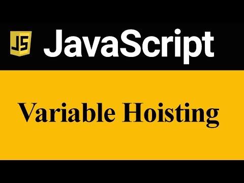 Variable Hoisting in JavaScript (Hindi)