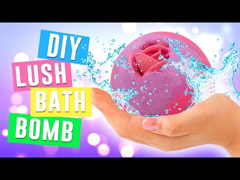 DIY Bath Bomb Without Citric Acid | Lush Homemade Bath Bombs