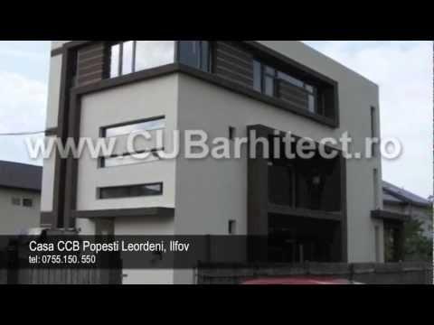 Proiecte case si vile   Proiect casa CCB Popesti Leordeni