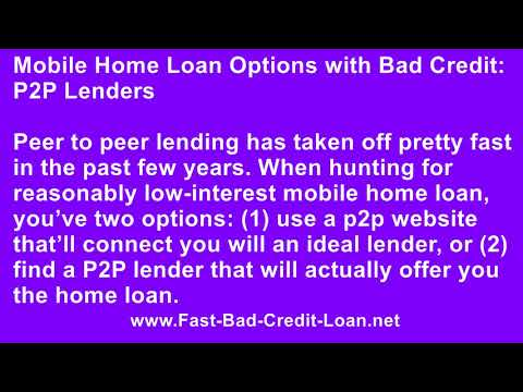 Can You Get a Loan for a Mobile Home as a Personal Loan?