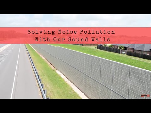 Solving Noise Pollution With Our Sound Walls