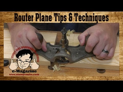 4 Reasons Why Power Tool Woodworkers Should Own A Router Plane (Tips and Techniques)