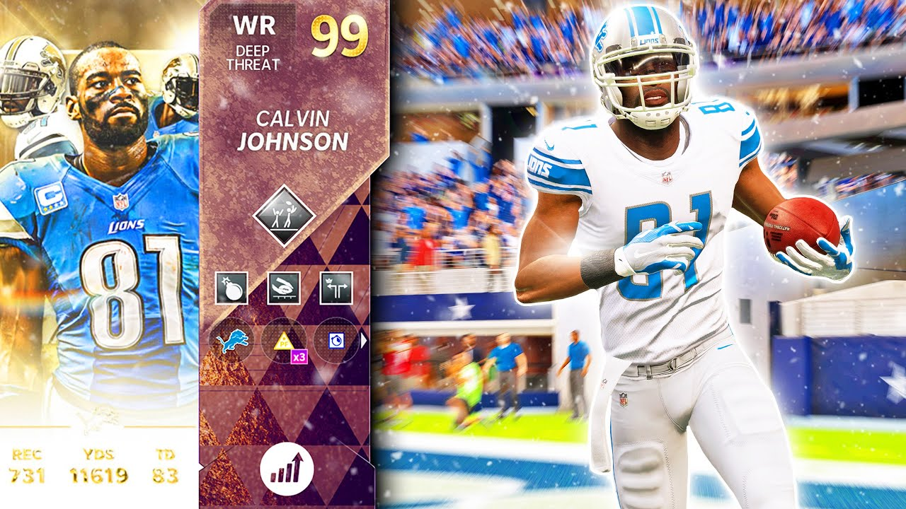 """CALVIN JOHNSON WILL NOT HAVE HER HOME BY 8 (3 TDs) - Madden 21 Ultimate Team """"Ultimate Legends"""""""