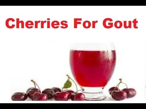 Cherries For Gout Healing Herbs