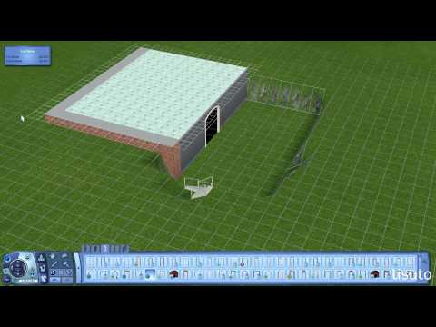 The Sims 3 Design Tips & Tricks - Build Inside a Foundation