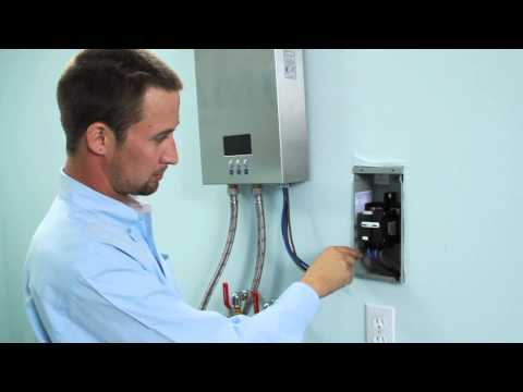 Installation of Electric Tankless Water Heater (ECO180)