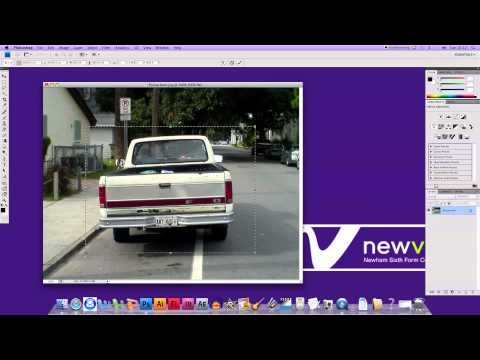 Photoshop CS4 - Resize and Rotate