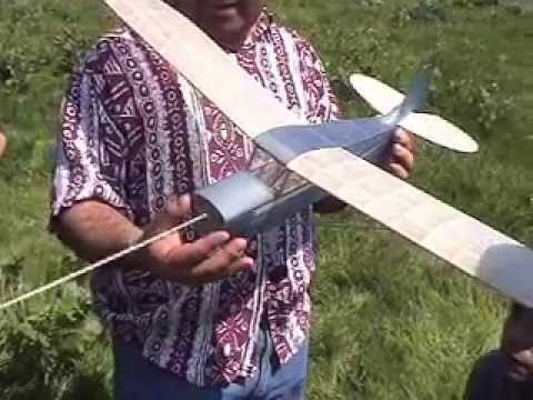 Rubber Band Powered Plane - Elicer 2