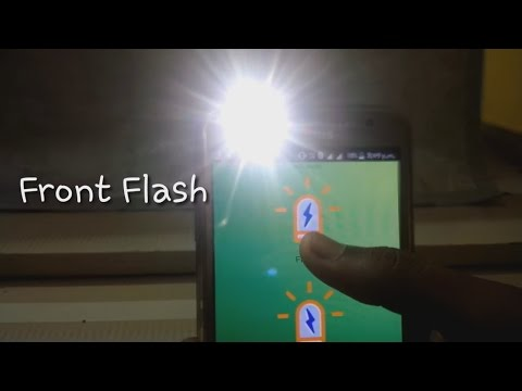 Front Flash and Front Flash Notification in any Android*      l #seesomethingnew