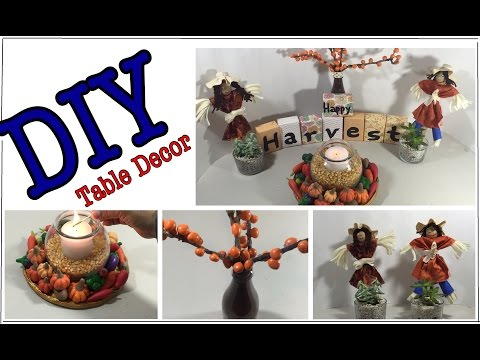 DIY Happy Harvest Decor / How to make Salt Clay Creations  #32