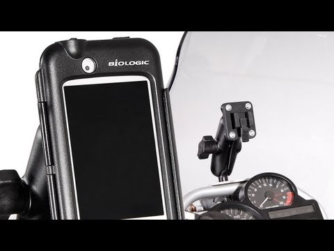 SW-Motech & Bags Connection - IPhone & RAM-Holder (english version)