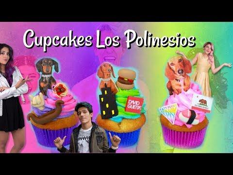 CUPCAKE DE LOS POLINESIOS (RAFA,KAREN y LESSLIE)
