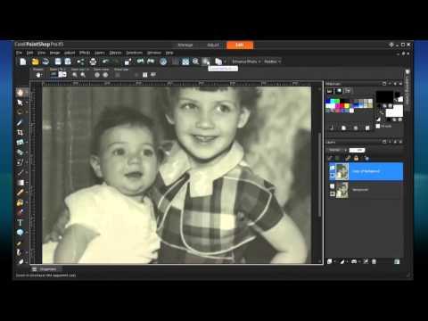 Introduction: restoring old photos with PaintShop Pro