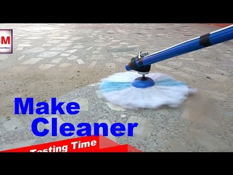 Life HACKS - How to make floor cleaner machine