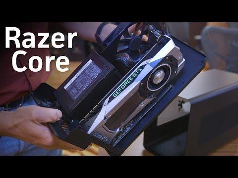 Razer's Core X: Cheaper, bigger, and works with Macbooks!