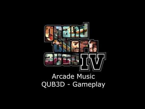 Grand Theft Auto IV Music - QUB3D (Gameplay)
